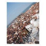 Foto de Venecia encima del cuadrado de San Marco Membretes Personalizados