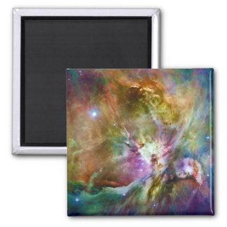 Foto decorativa del espacio de la galaxia de la imán cuadrado