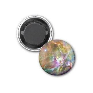 Foto decorativa del espacio de la galaxia de la imán redondo 3 cm