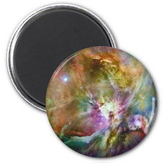Foto decorativa del espacio de la galaxia de la imán redondo 5 cm