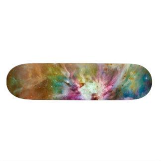 Foto decorativa del espacio de la galaxia de la patines personalizados