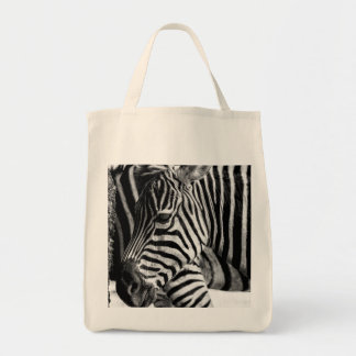 Foto del animal de la fauna de la cebra bolsa tela para la compra