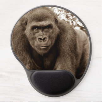 Foto del animal de la fauna del primate del mono d alfombrillas de raton con gel