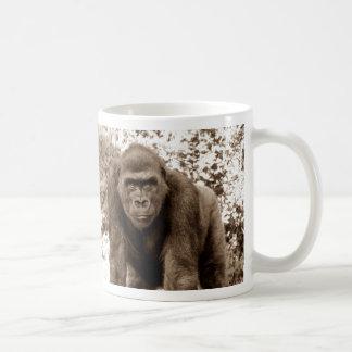 Foto del animal de la fauna del primate del mono d tazas de café