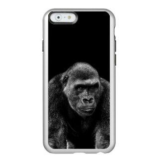 Foto del animal de la fauna del primate del mono funda para iPhone 6 plus incipio feather shine
