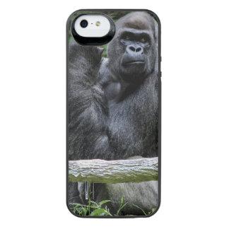 Foto del animal de la fauna del primate del mono funda power gallery™ para iPhone 5 de uncommon