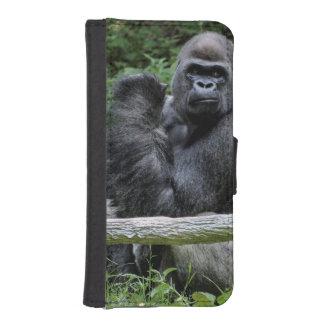 Foto del animal de la fauna del primate del mono funda tipo billetera para iPhone 5