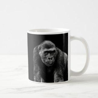 Foto del animal de la fauna del primate del mono taza básica blanca