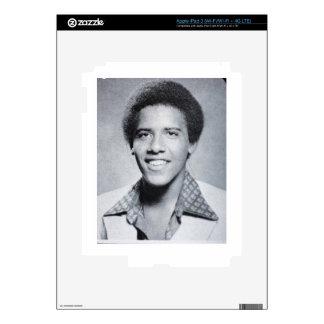Foto del anuario de Barack Obama iPad 3 Pegatinas Skins