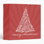 foto del árbol de las Felices Navidad swirly/carpe