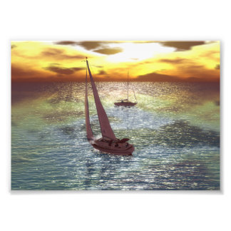 Foto del arte de la navegación - en para siempre