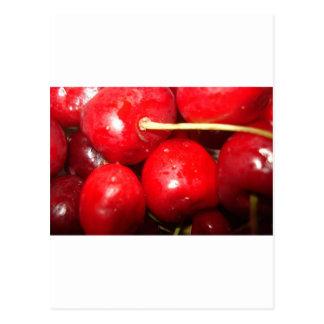 Foto del arte de las cerezas tarjetas postales