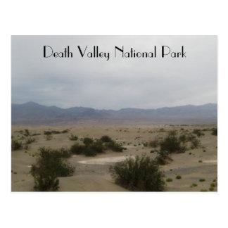 Foto del arte del parque nacional de Death Valley Tarjetas Postales