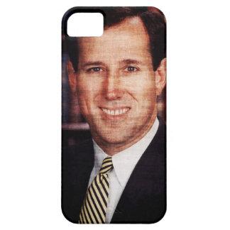 Foto del arte del retrato de Santorum iPhone 5 Carcasas