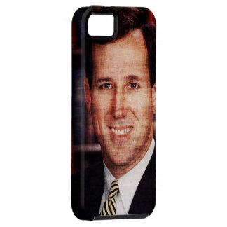 Foto del arte del retrato de Santorum iPhone 5 Fundas