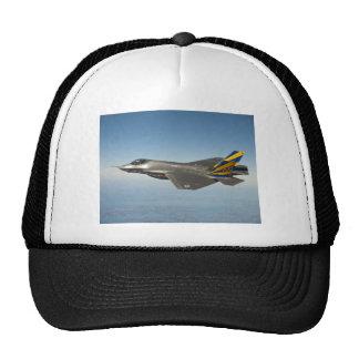 Foto del avión de combate gorro de camionero