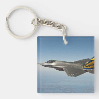 Foto del avión de combate llavero