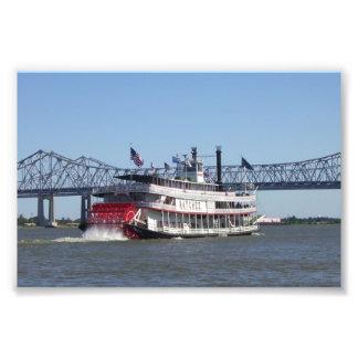 Foto del barco de río