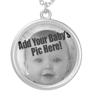 Foto del bebé colgante redondo