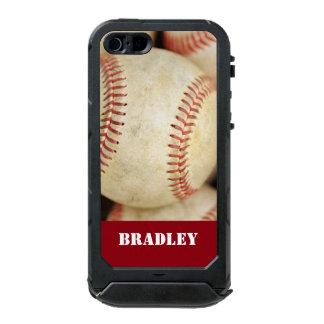 Foto del béisbol carcasa de iphone 5 incipio atlas id