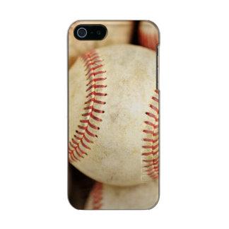 Foto del béisbol carcasa de iphone 5 incipio feather shine
