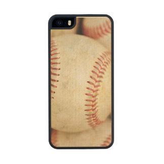 Foto del béisbol funda de arce carved® para iPhone 5 slim