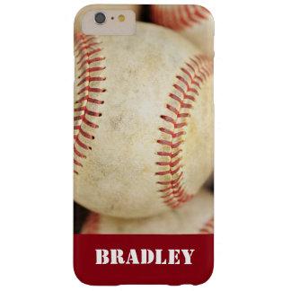 Foto del béisbol funda de iPhone 6 plus barely there