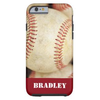 Foto del béisbol funda de iPhone 6 tough
