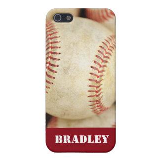 Foto del béisbol iPhone 5 funda