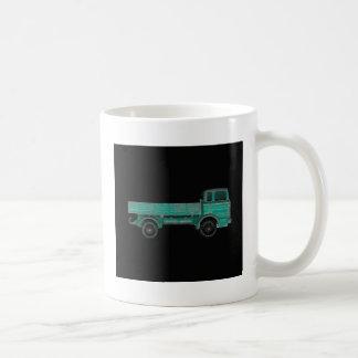 Foto del camión del juguete del vintage del taza clásica