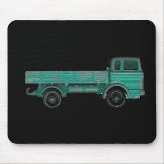 Foto del camión del juguete del vintage del transp tapetes de ratón