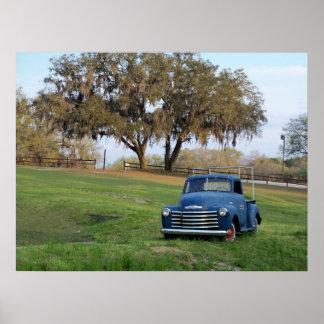 Foto del camión del país de Chevrolet de la camion Póster