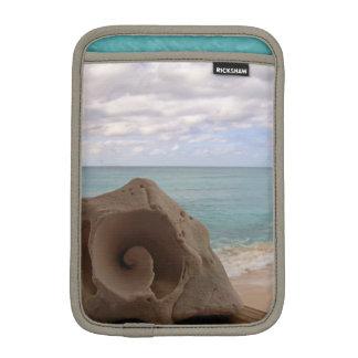Foto del Caribe de la playa del Seashell tranquilo Funda Para iPad Mini