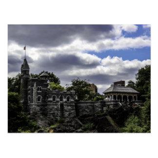 Foto del castillo del belvedere, el Central Park d Tarjeta Postal