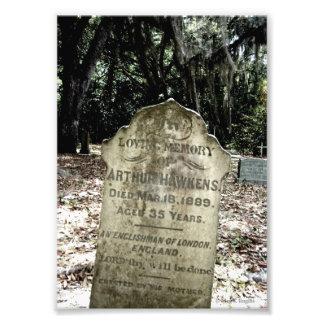 """Foto del cementerio """"de un inglés"""""""