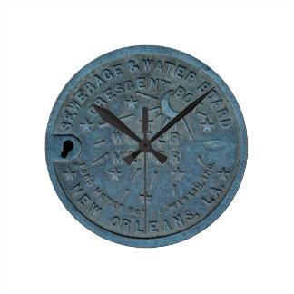 Foto del contador del agua de New Orleans Reloj