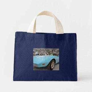 Foto del Corvette de los azules cielos Bolsa Tela Pequeña