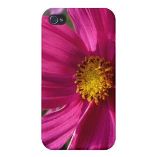 Foto del cosmos de las rosas fuertes iPhone 4/4S fundas