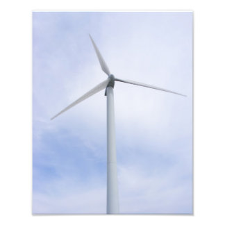 Foto del ~ de la turbina de viento