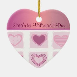 Foto del día de San Valentín de Babys de los coraz Adorno