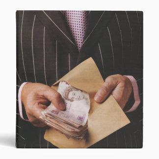 Foto del dinero de la carpeta de HealthyCoffee