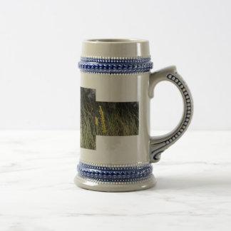 Foto del diseño del fondo de la hierba verde de Br Taza De Café