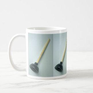 Foto del émbolo taza básica blanca