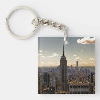 Foto del Empire State Building en NYC Llavero