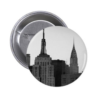 Foto del Empire State Building Pin Redondo De 2 Pulgadas