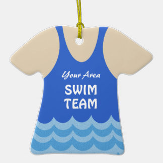 Foto del equipo de natación adornos