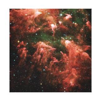 Foto del espacio de la nebulosa de Carina Impresión En Lienzo