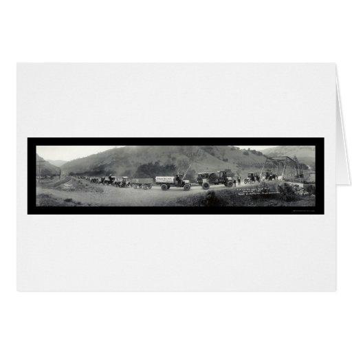 Foto del este 1920 de la bahía del viaje del tarjeta de felicitación