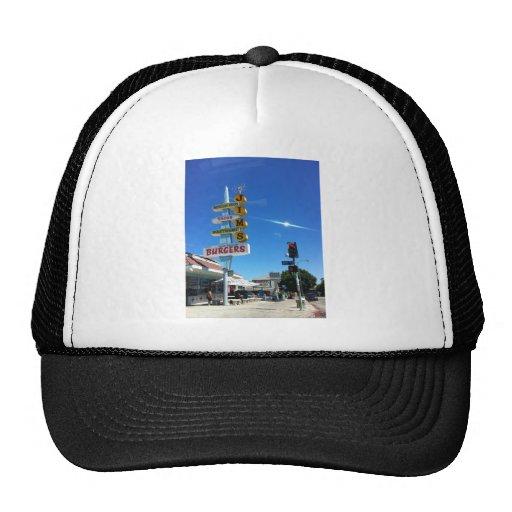 foto del este de Los Ángeles de las hamburguesas d Gorro De Camionero
