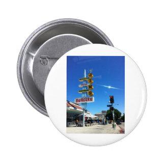 foto del este de Los Ángeles de las hamburguesas d Pin Redondo De 2 Pulgadas